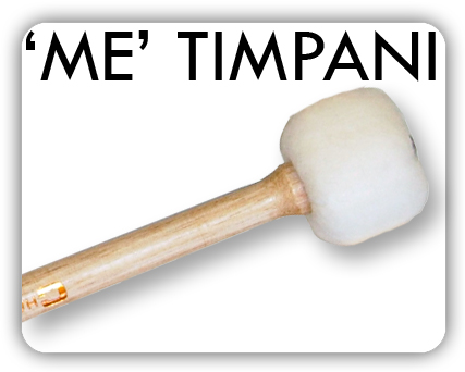 ME Timpani mallets are produced with the same care as the symphonic types but have heads of split seamed felt sewn over inner cores of compressed felt. Available in medium and soft grades with the addition of a powerful hard and medium solid felt model. The tapered handles are in hardwood with lacquered finish.