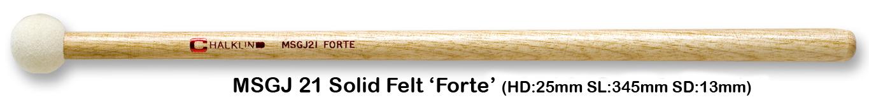 MSGJ21 SOLID FELT FORTE