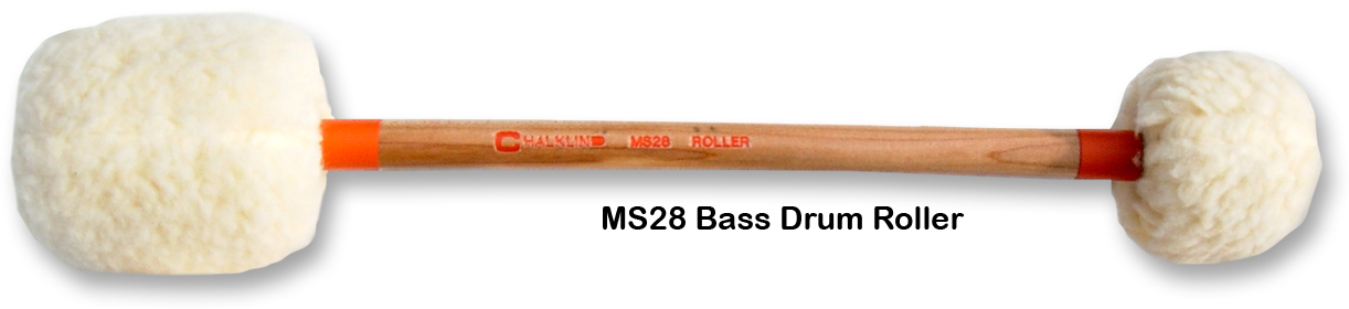 MS28 BASS DRUM ROLLER