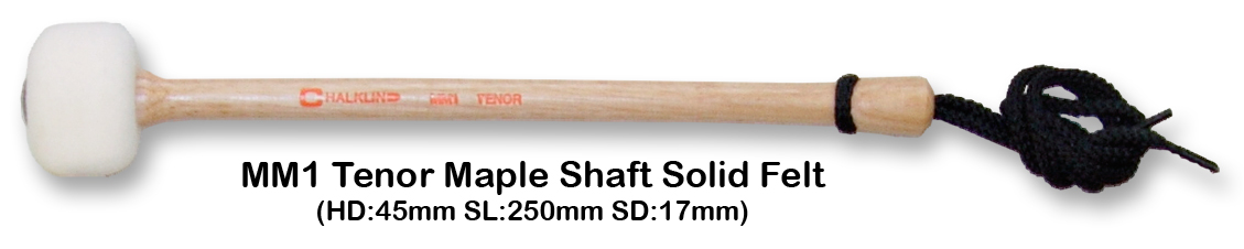 MM1 TENOR MAPLE SHAFT SOLID FELT