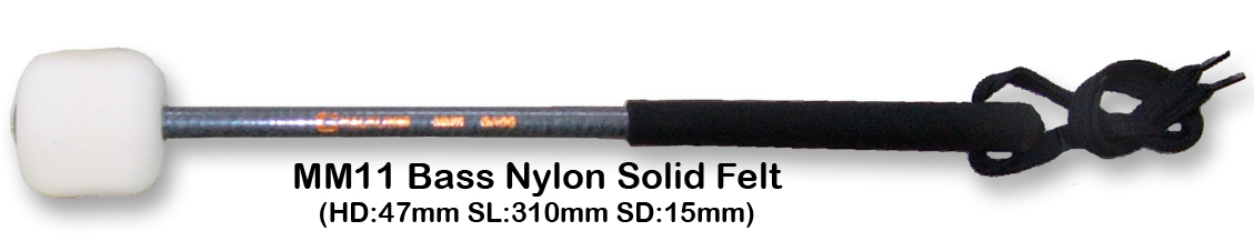 MM11 BASS NYLON SOLID FELT