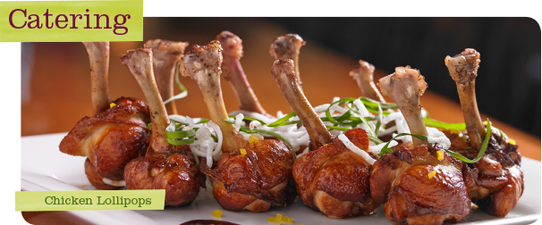 Upstream Catering Chicken Lollipops