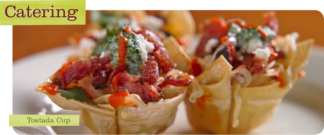 Upstream Catering Tostada Cup