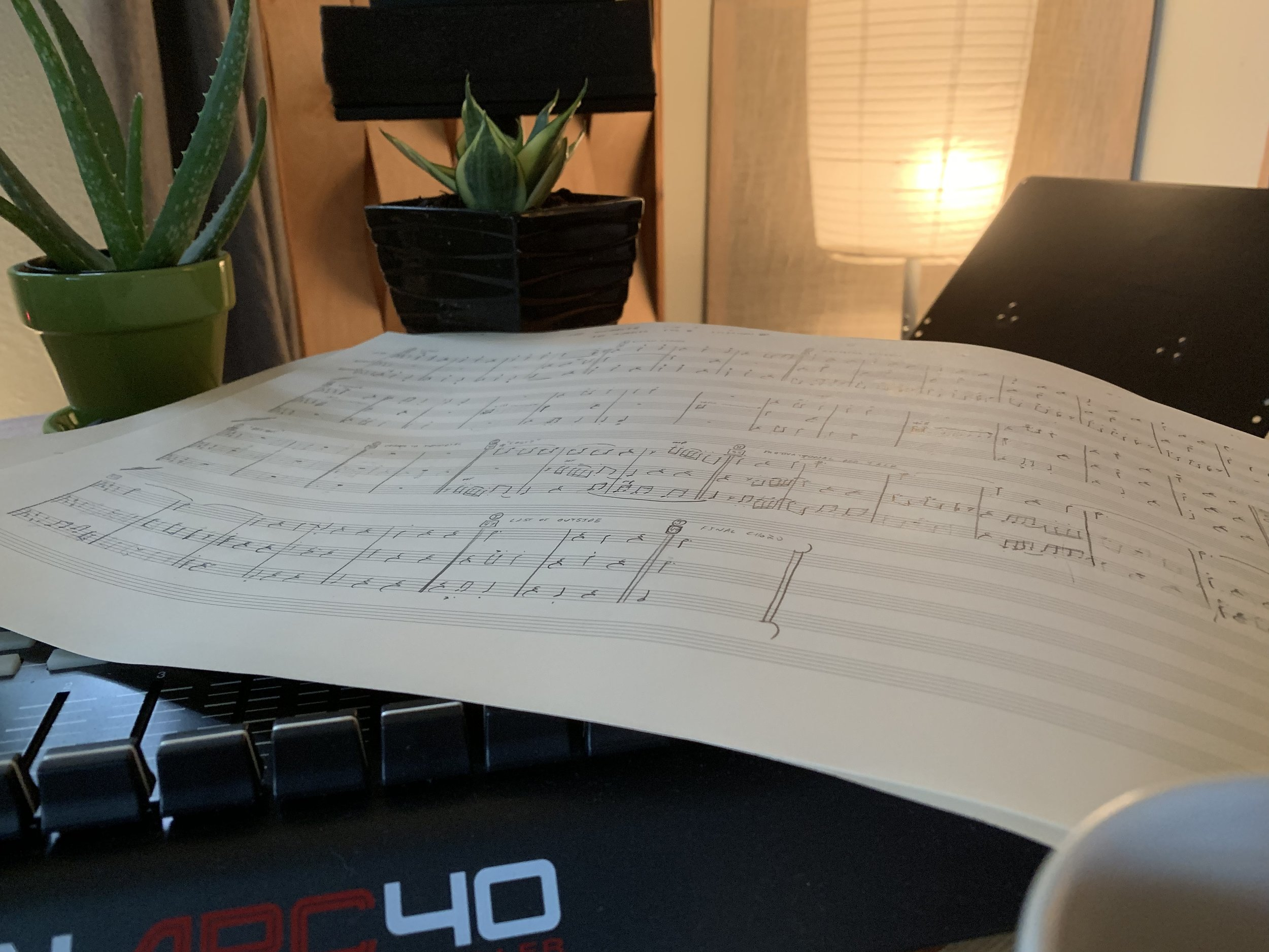 I love it when I get to spend an entire week just writing music.