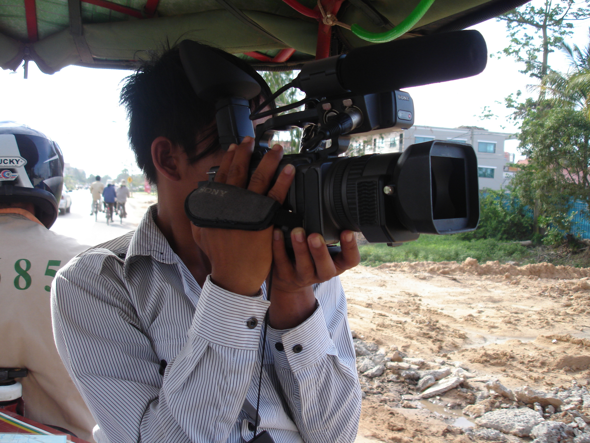 Participatory video making, Siem Reap, Cambodia