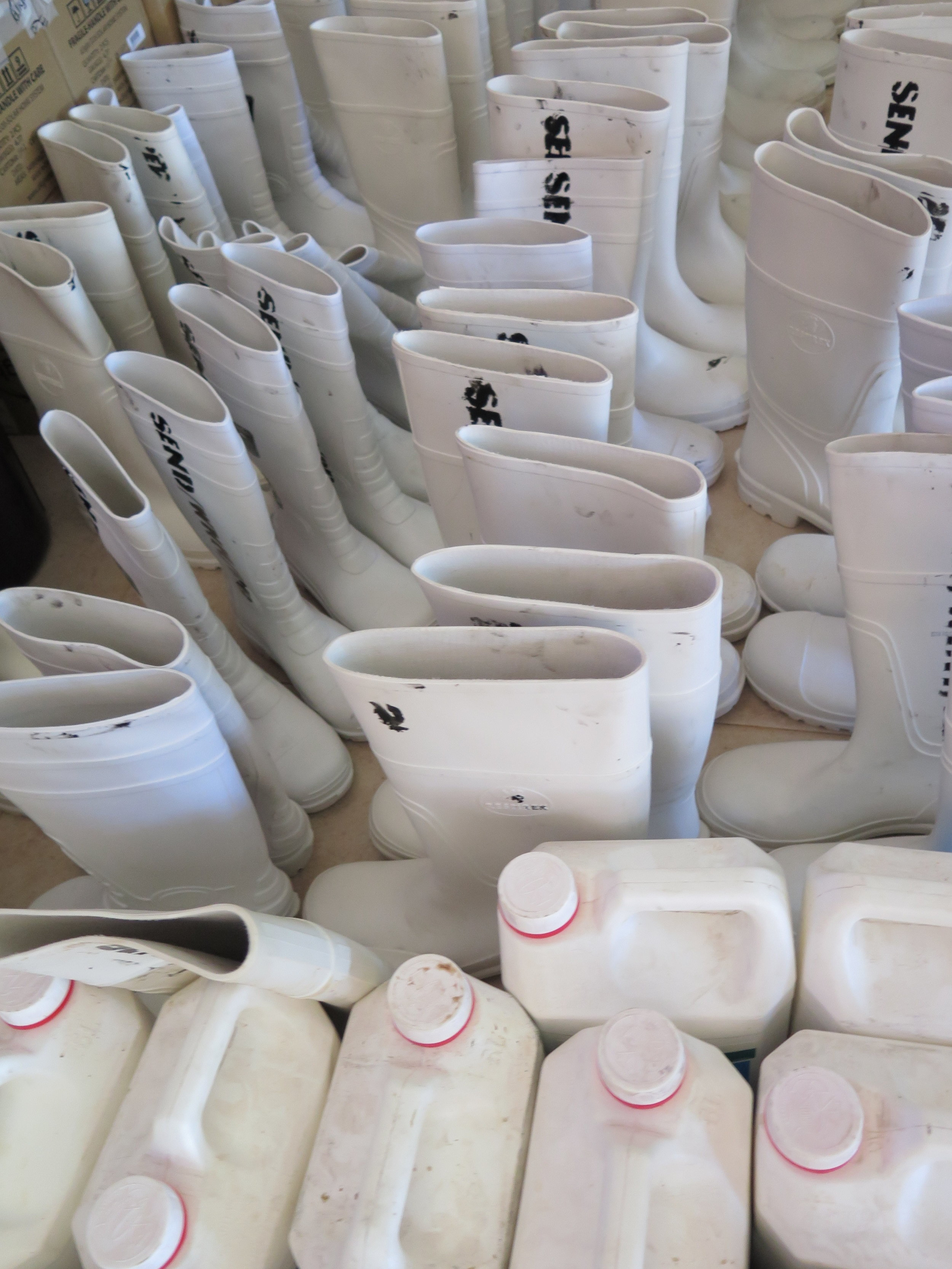 Boots Post Ebola, Sierra Leone