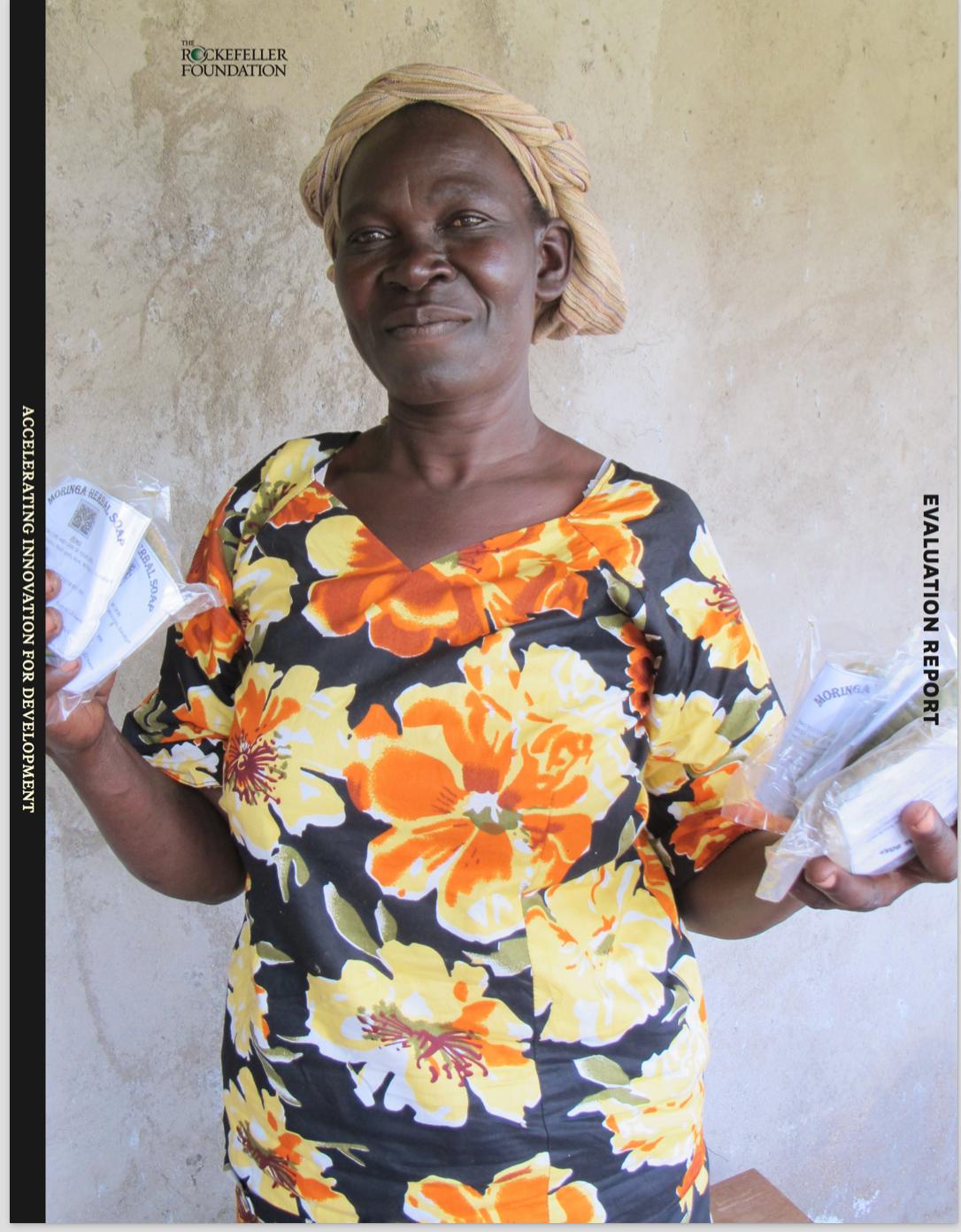 Village level entrepreneur with innovative products, Kenya
