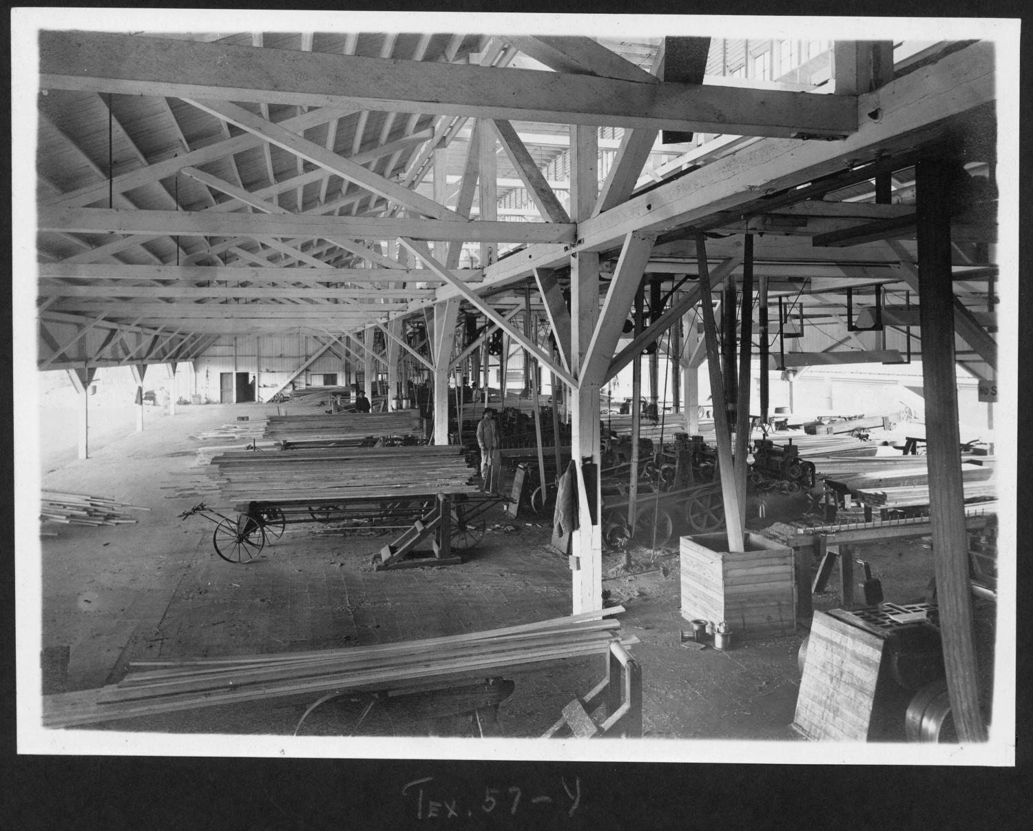 Tex57 Interior View of Planning Mill