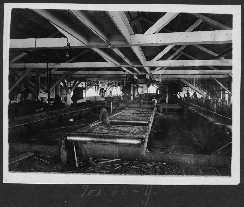 Tex60 Saw Mill Interior
