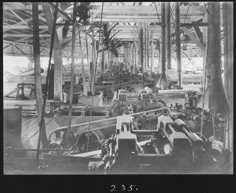 S. P. 235 Planing Mill Interior