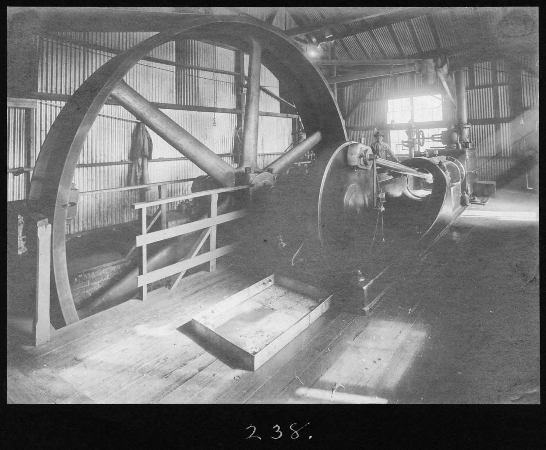 S. P. 238 Sawmill Engine