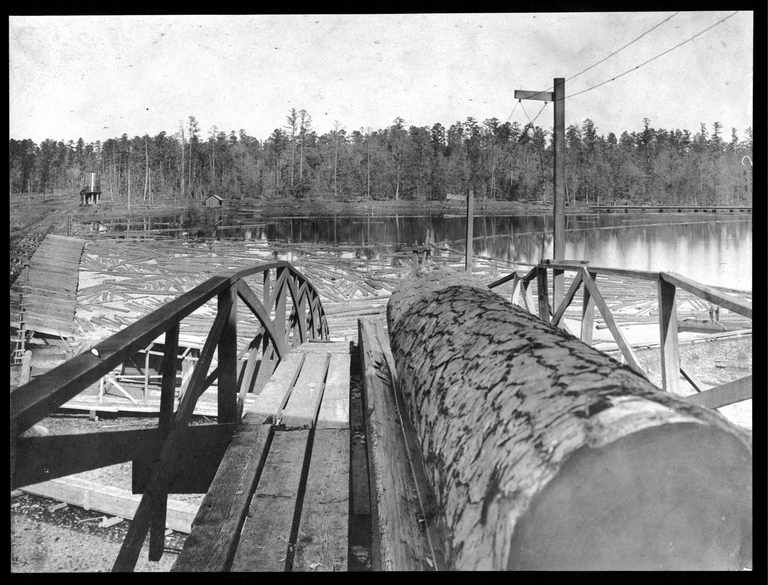 S.P. 241 view of log pond from incline