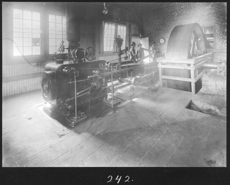 S. P. 242 Hardwood Sawmill Engine