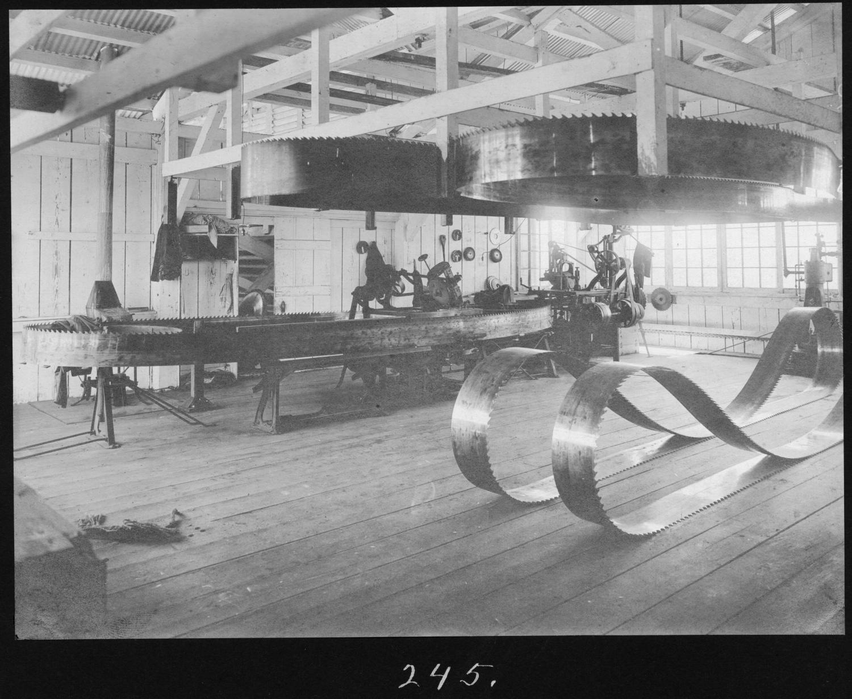 S. P. 245 Hardwood Mill Filing Room