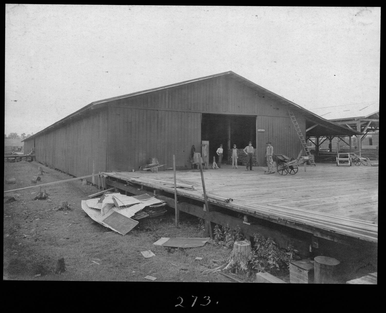 S. P. 273 Rough Dry Lumber Shed