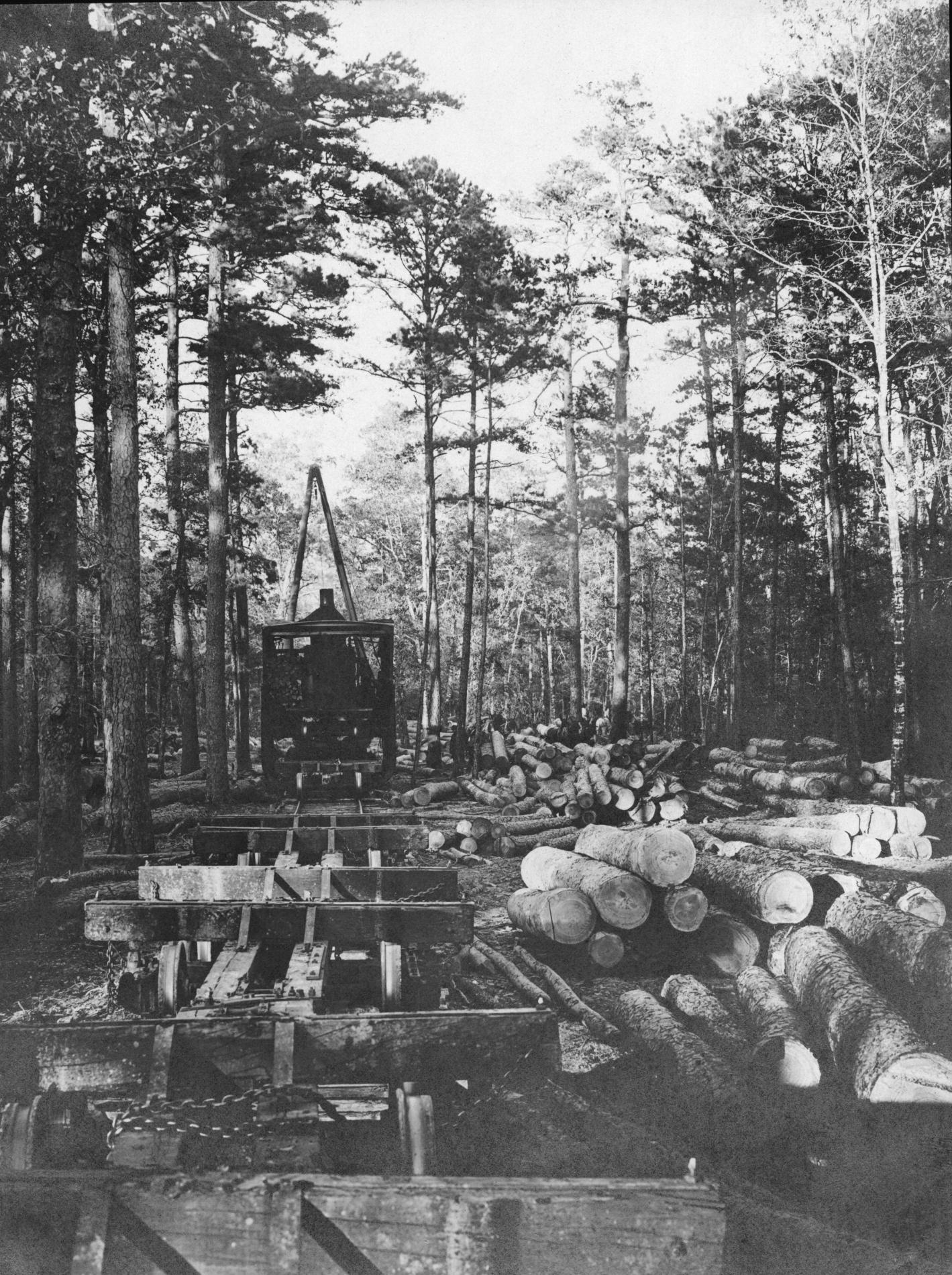 S. P. 324 McGiffert Loader and Pine Log Ramps