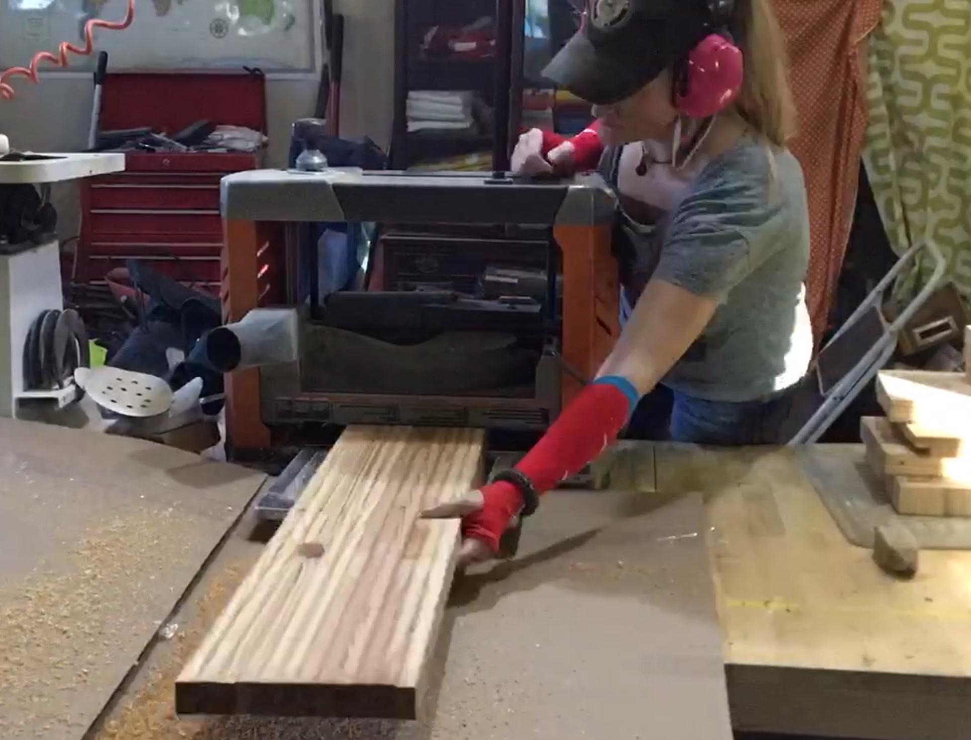 rachel winner wood planing