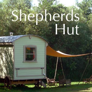 Bonhays shepherds hut accommodation