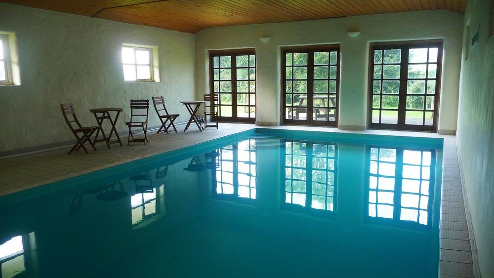 The Pool at Bonhays Meditation and Retreats Centre