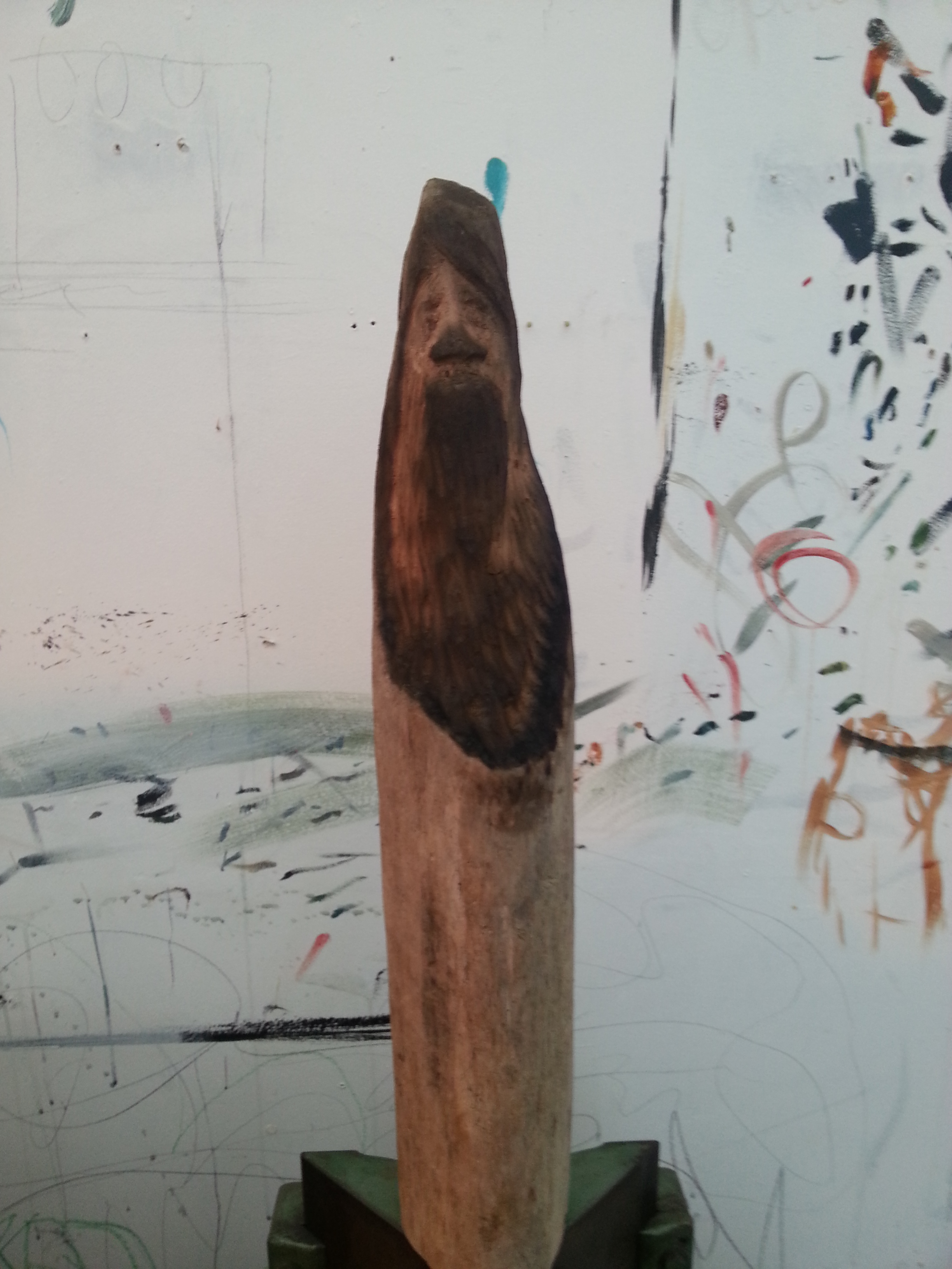 wood carving in progress...