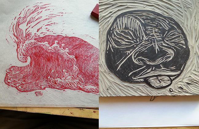 Two new images I have been working on, both of which will be in Renegade Craft SF- Nov 8-9th/ Ft Mason Center. Be there.