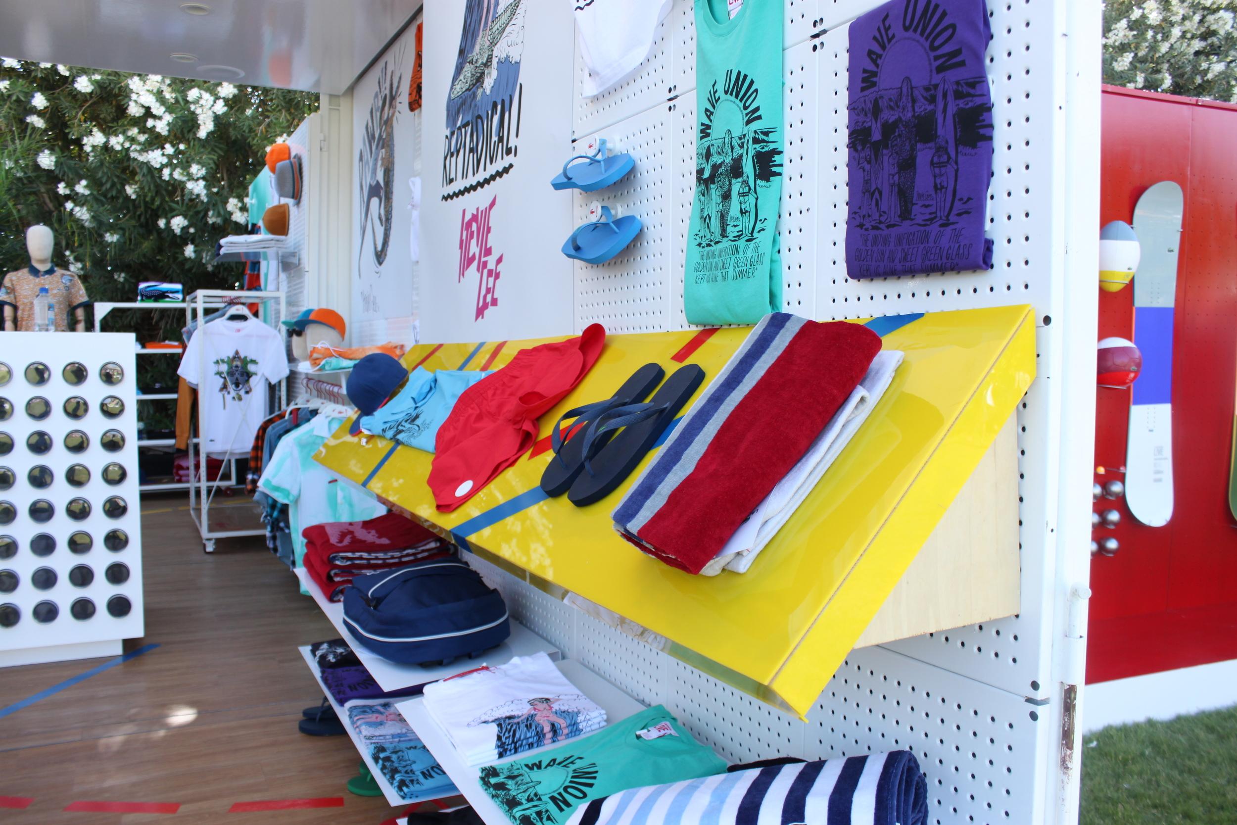 Lacoste L!ve summer wear