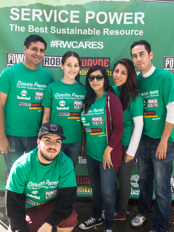 Volunteers from our San Diego stores.