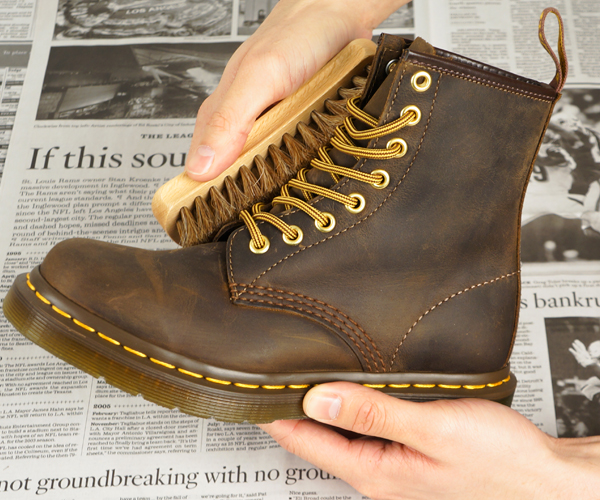 online store professional select for original How To: Care for Leather Boots with Dr. Martens Wonder ...