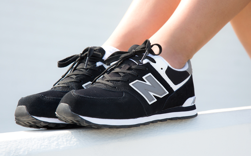 Shoes:  New Balance 574 Core Black