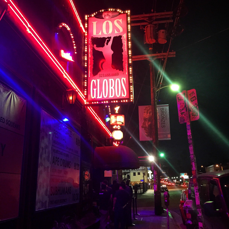 Los Globos in Echo Park, California