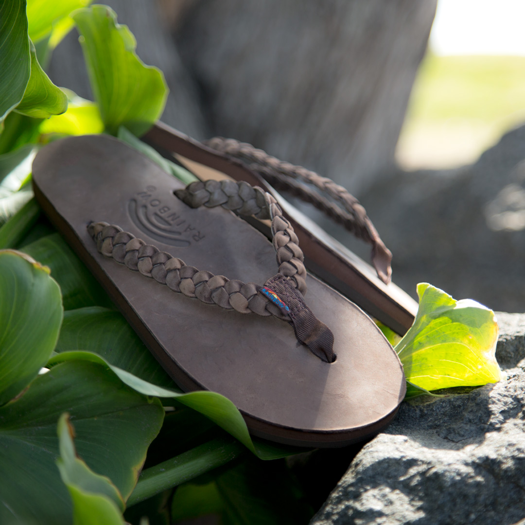 Rainbow Sandals Flirty Braidy Espresso Sandal
