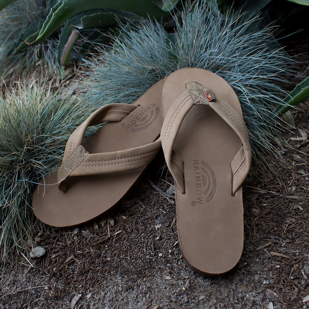 Rainbow Sandals Premier Leather Dark Brown Sandal