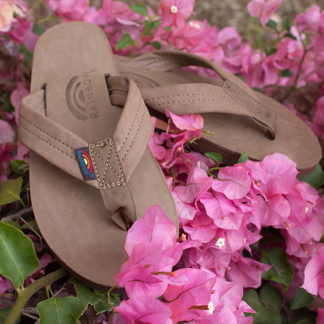 Rainbow Sandals Premier Leather Sierra Brown Sandal