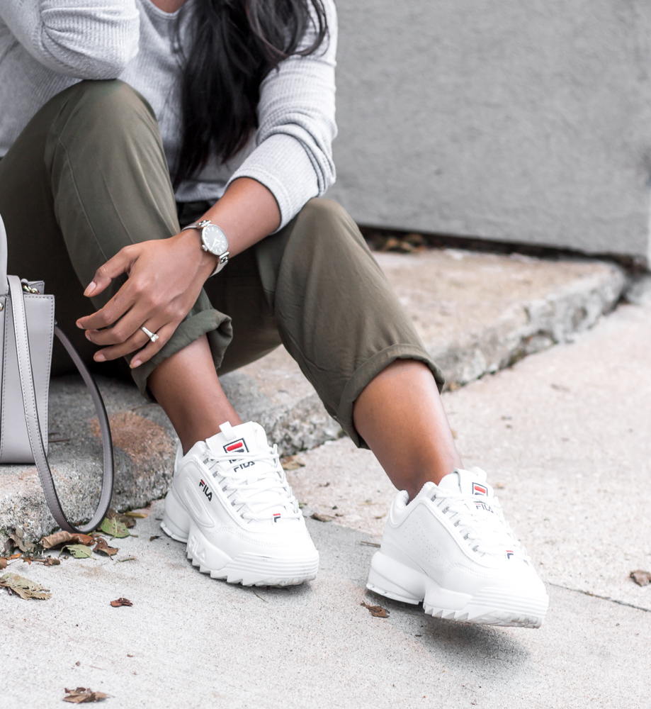 cool ways to wear the fila disruptor ii — rw beyond the box