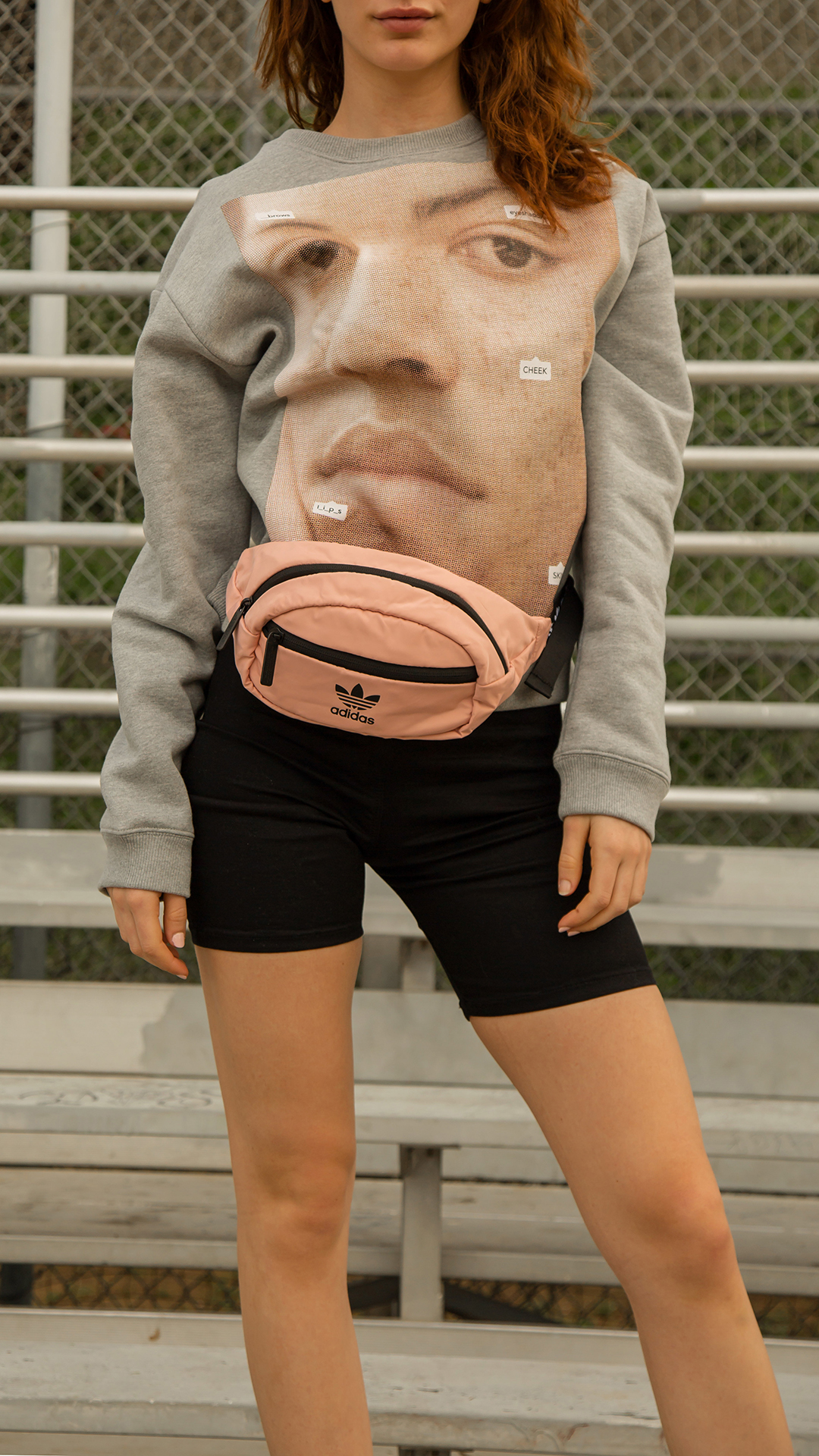Biker shorts +  Waist Packs