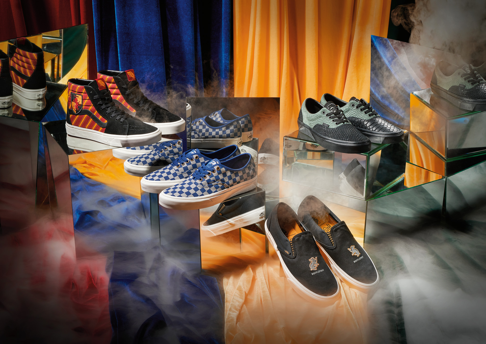 See the  Vans x Harry Potter collection here .