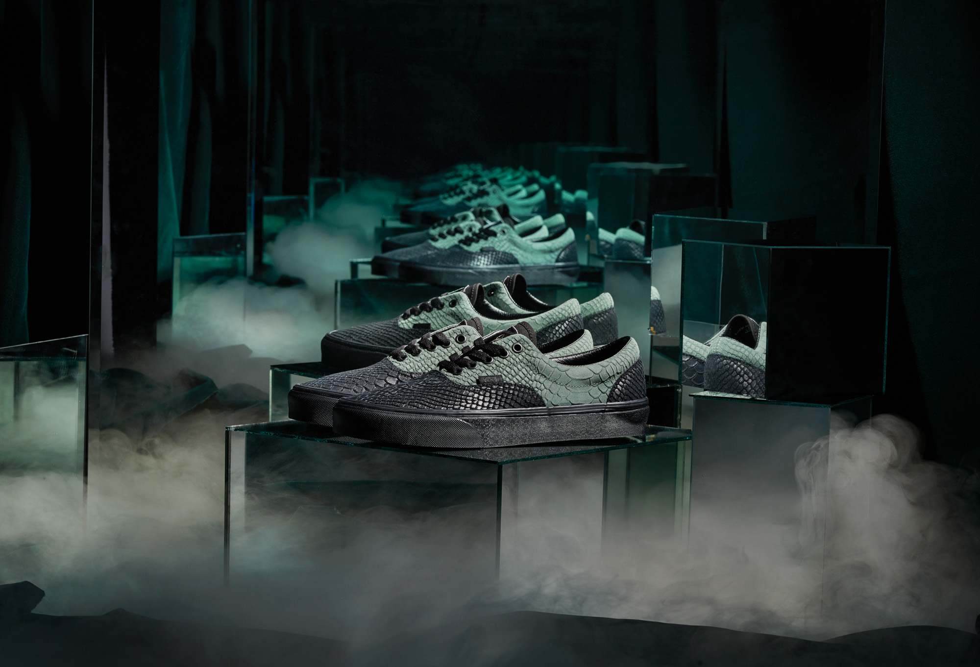 Vans x Harry Potter Slytherin collection