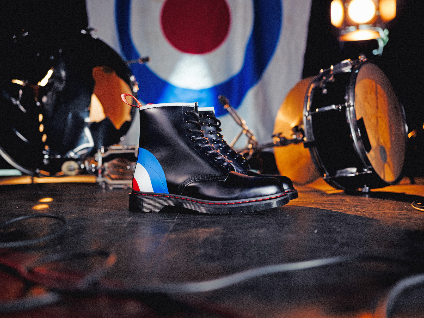 Dr. Martens x The Who collection 1460 Black Smooth