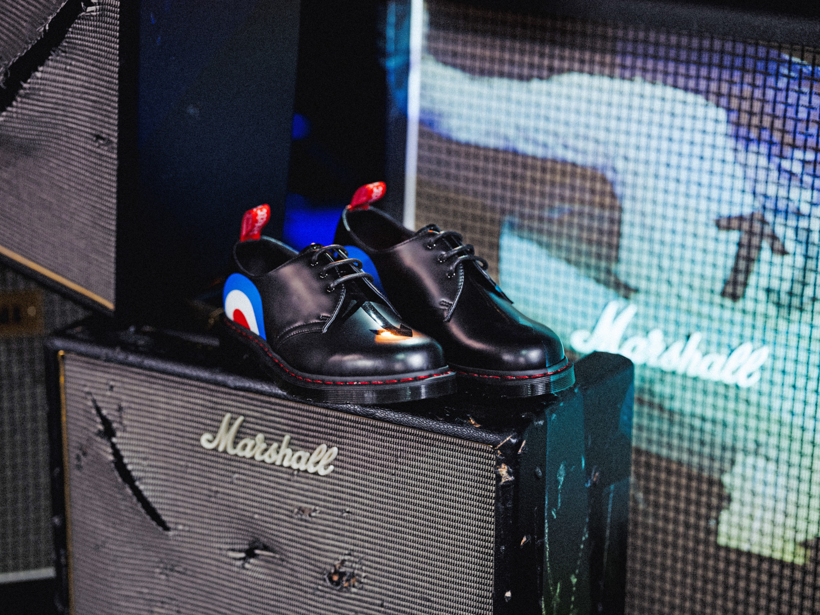 Dr. Martens x The Who collection 1461 Black Smooth