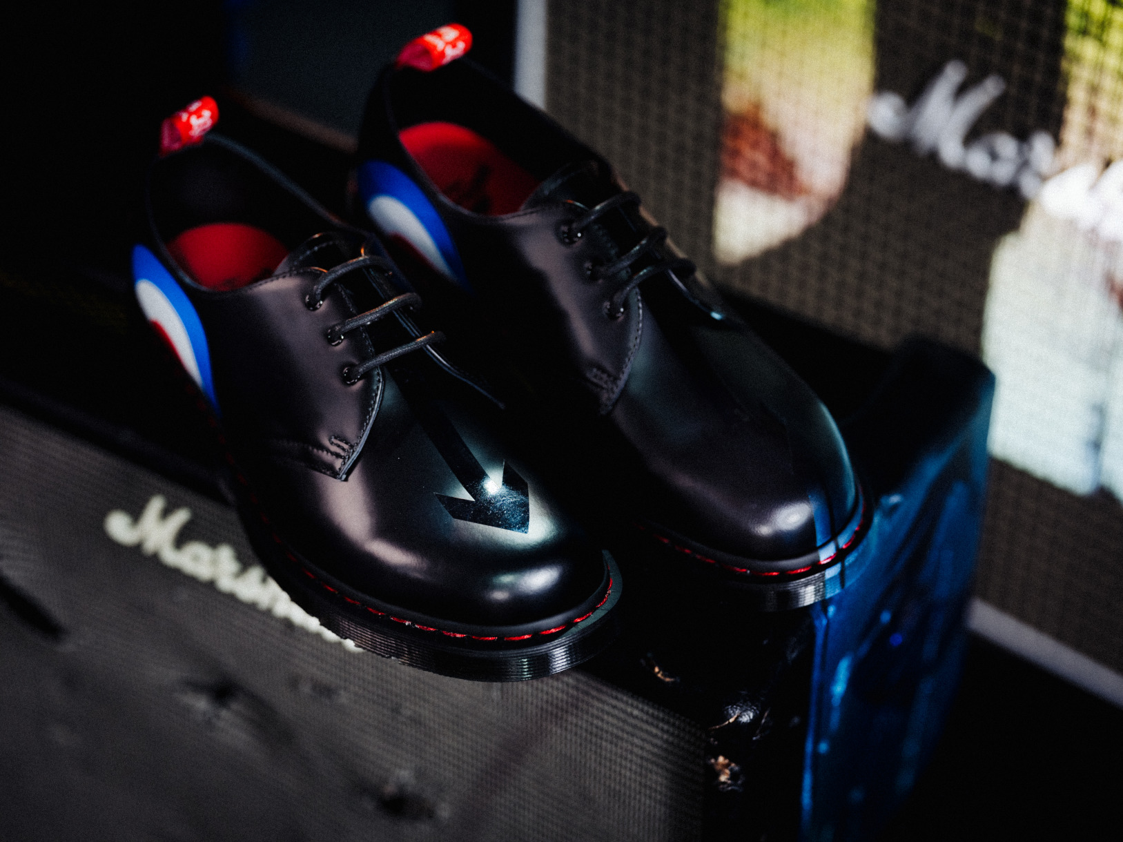 Dr. Martens x The Who collection Adrian Tassel Loafer