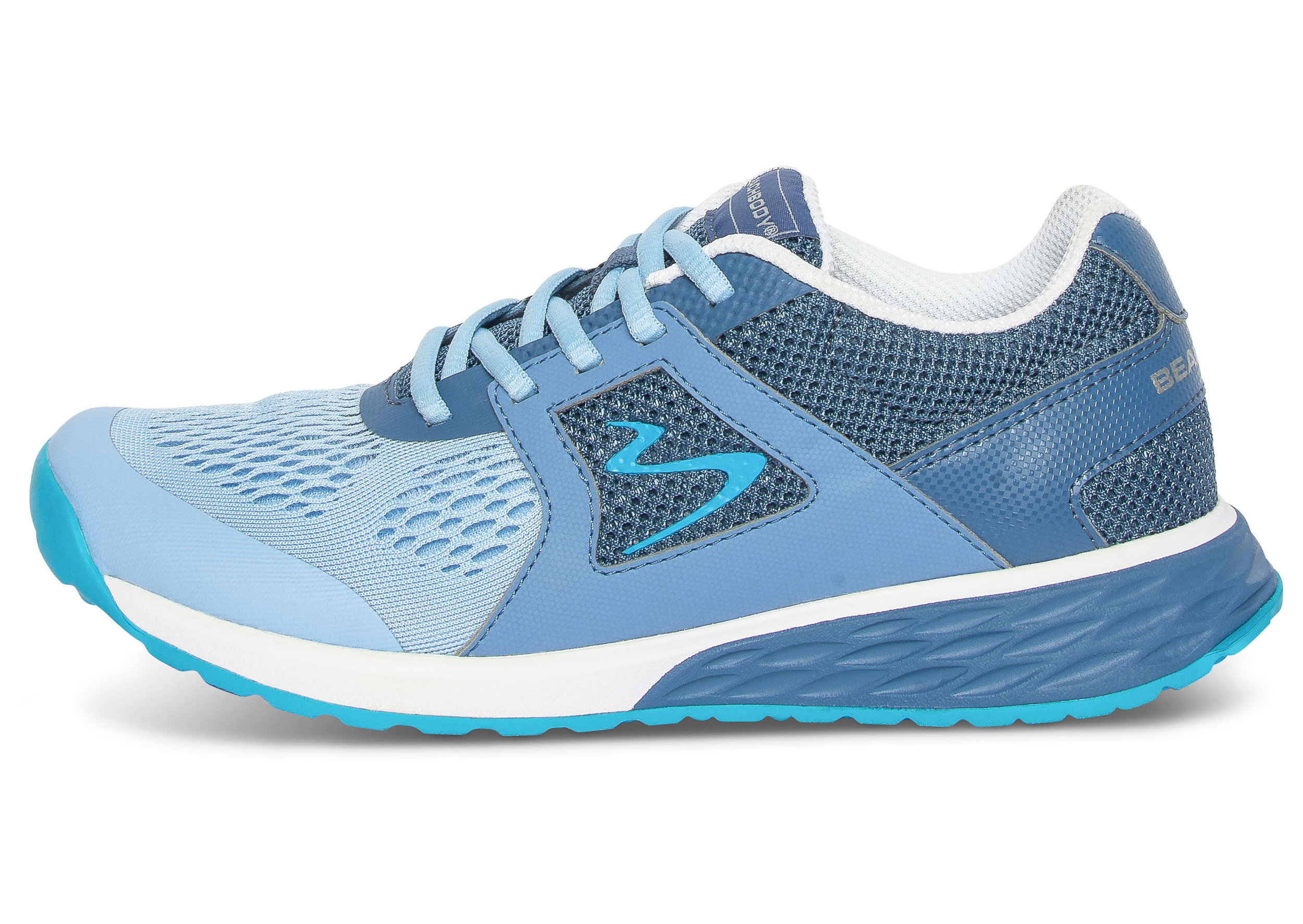BEACHBODY WOMENS IGNITE BLUE DUSTY INDIGO ELECTRIC CYAN