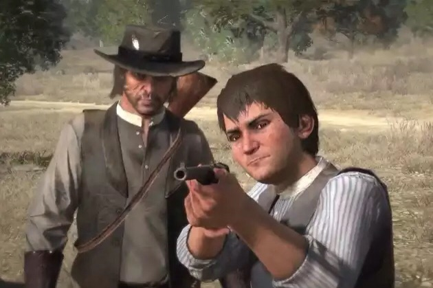 John Marston and his son