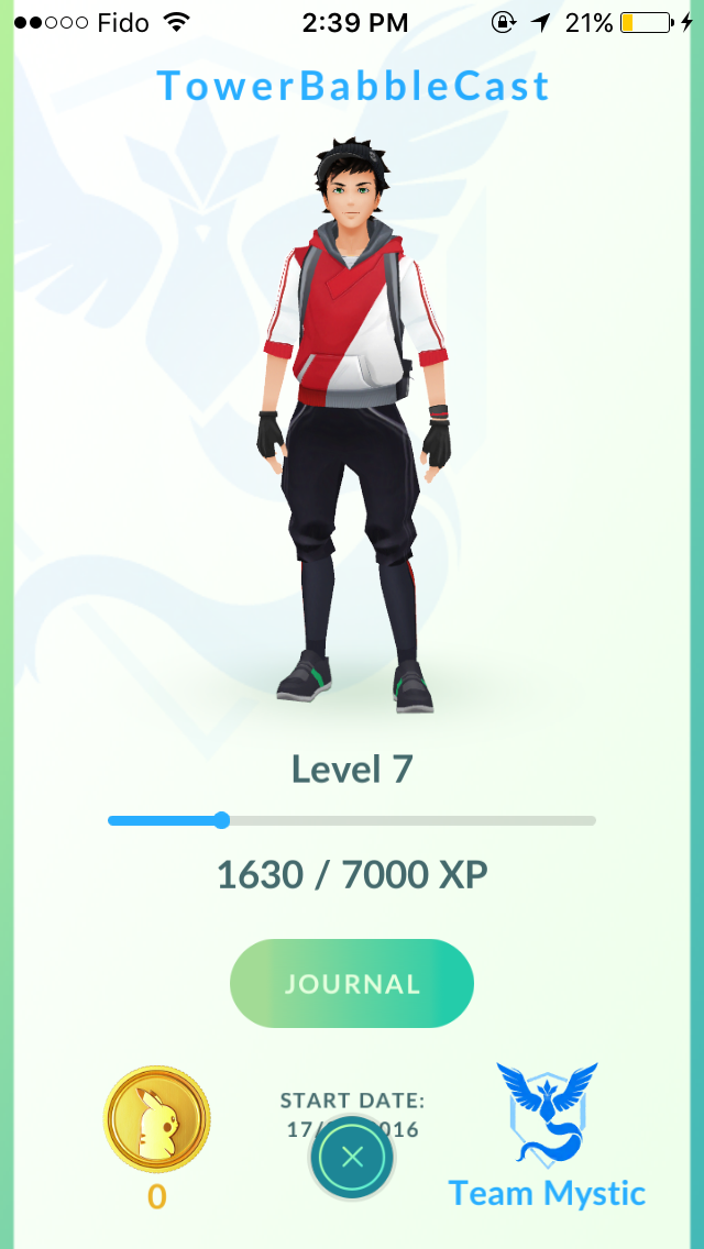 Who's that handsom level 7 trainer?