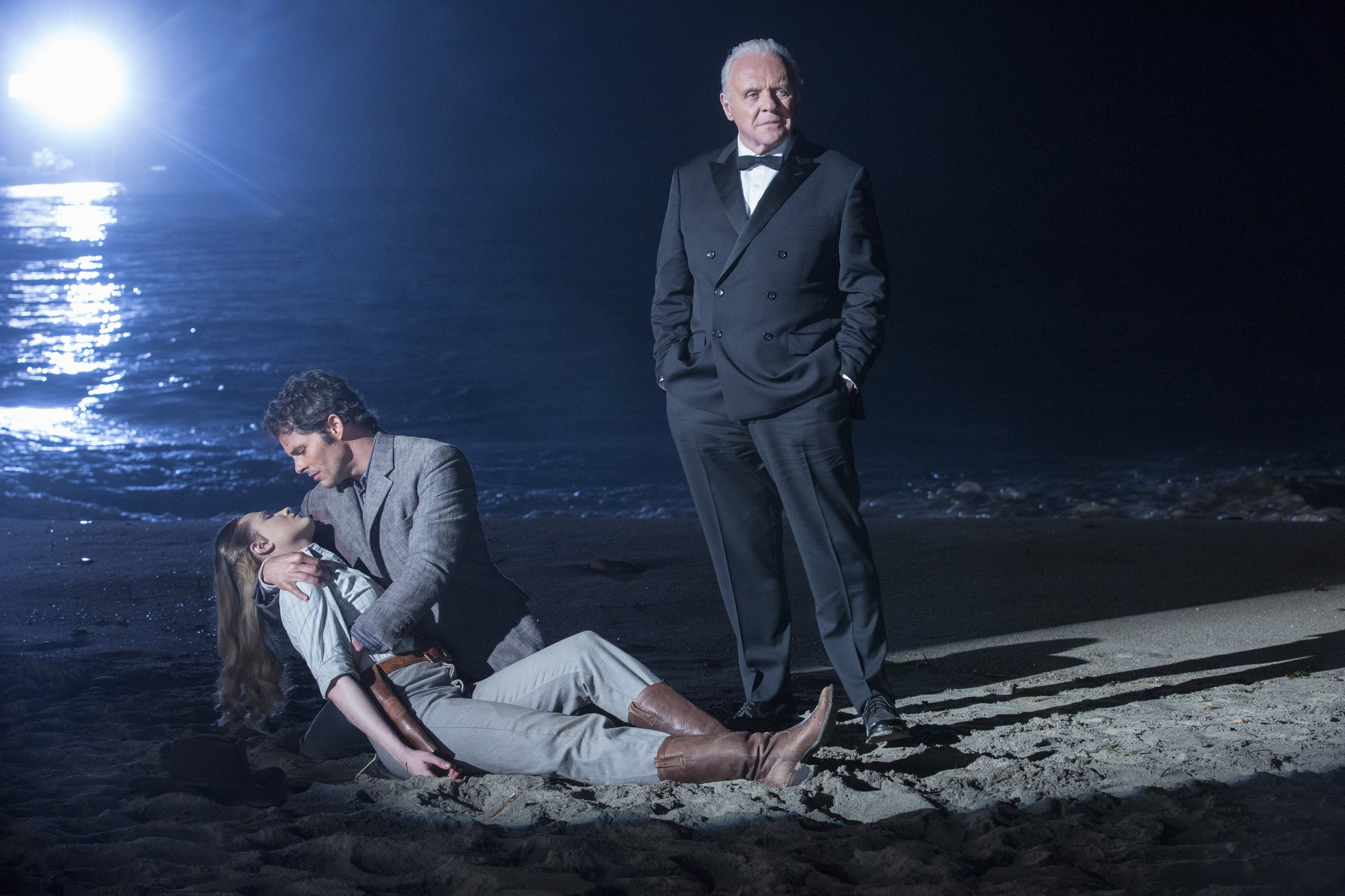 dolores and teddy with dr ford westworld finale.jpg