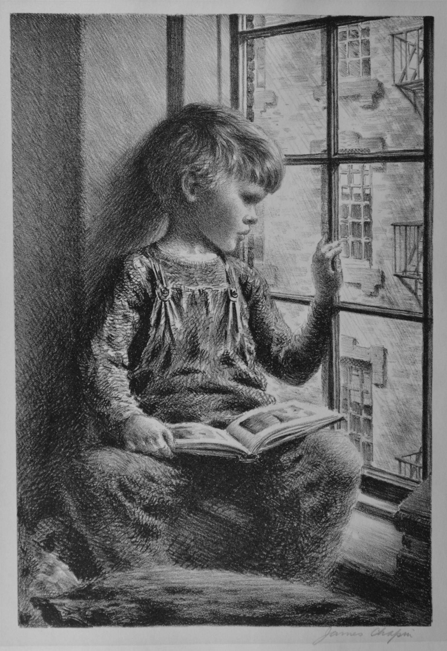 S Chapin-Boy At Window.jpg