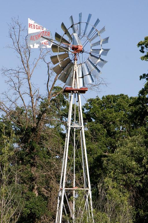 Windmill near the creek