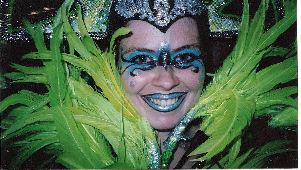 Mardis Gras Parade Makeup