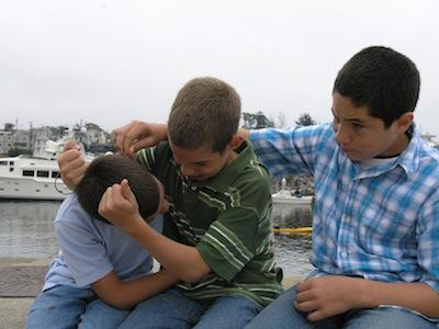 2008 Always goofing around...