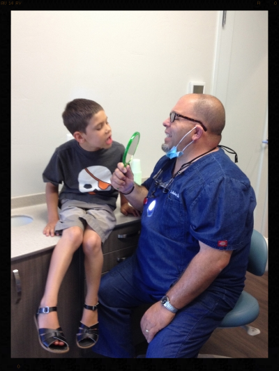 When Dad is the dentist