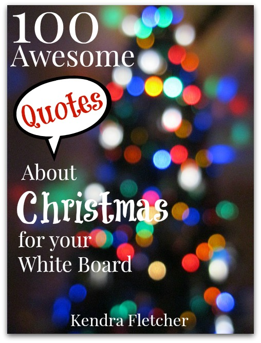 100 Awesome Quotes About Christmas For Your White Board ...